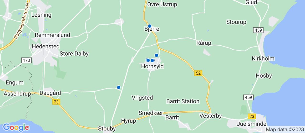 sandblæsning firmaer i Hornsyld