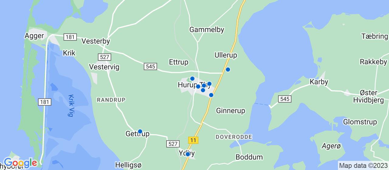 mekaniker firmaer i Hurup