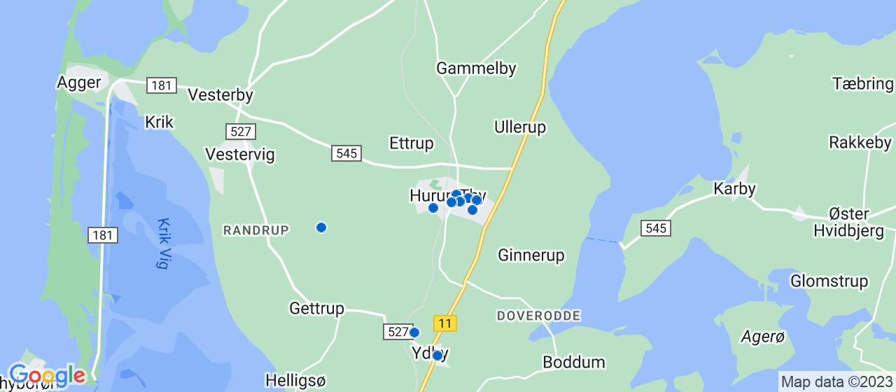 byggefirmaer i Hurup