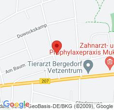 Google Maps / Routenplaner Augentagesklinik HH-Bergedorf