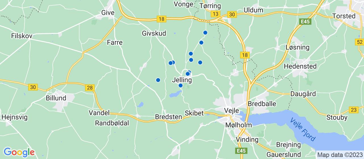 mekaniker firmaer i Jelling