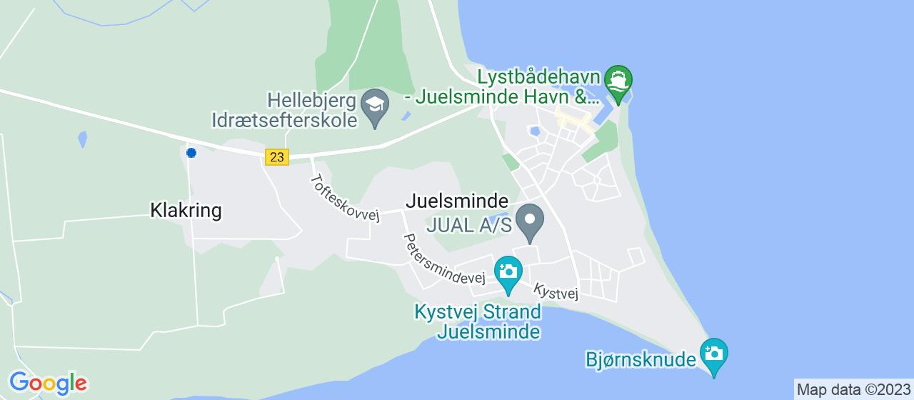 ejendomsservicefirmaer i Juelsminde