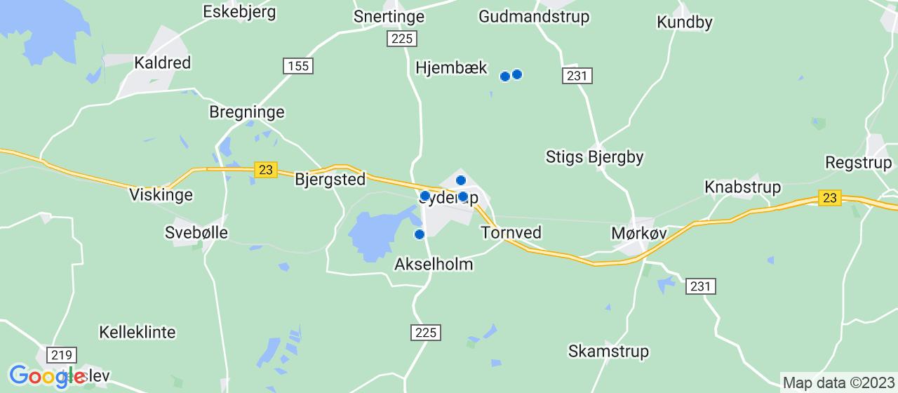 elektrikerfirmaer i Jyderup