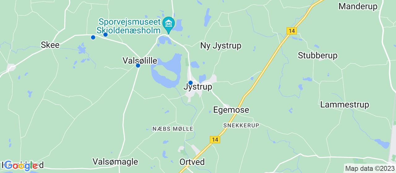 byggefirmaer i Jystrup