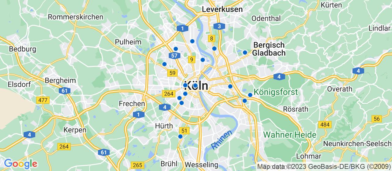 Umzugsunternehmen i Köln
