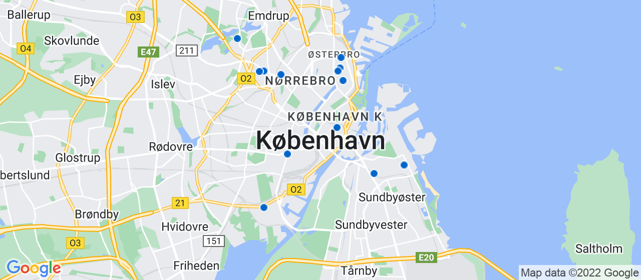 glarmesterfirmaer i København
