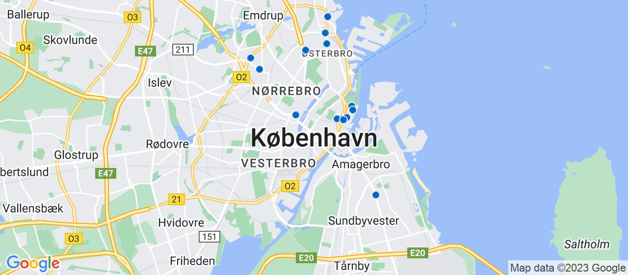 ejendomsmæglerfirmaer i København