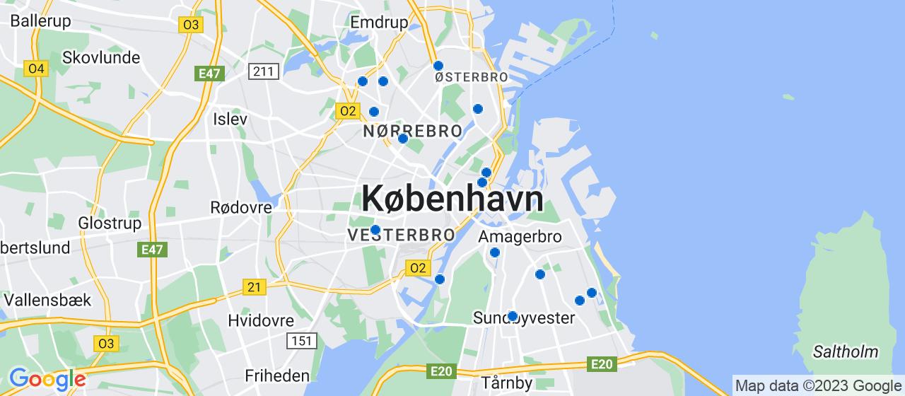 tagdækningsvirksomheder i København