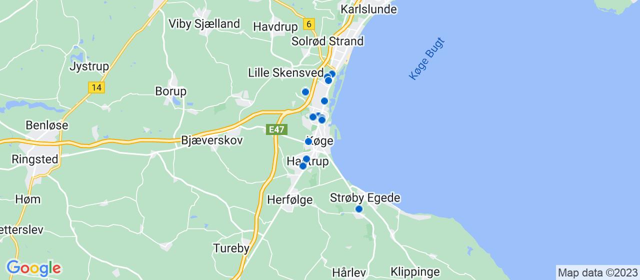 mekaniker firmaer i Køge