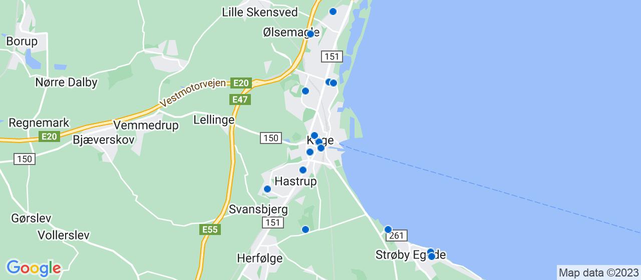 arkitektfirmaer i Køge