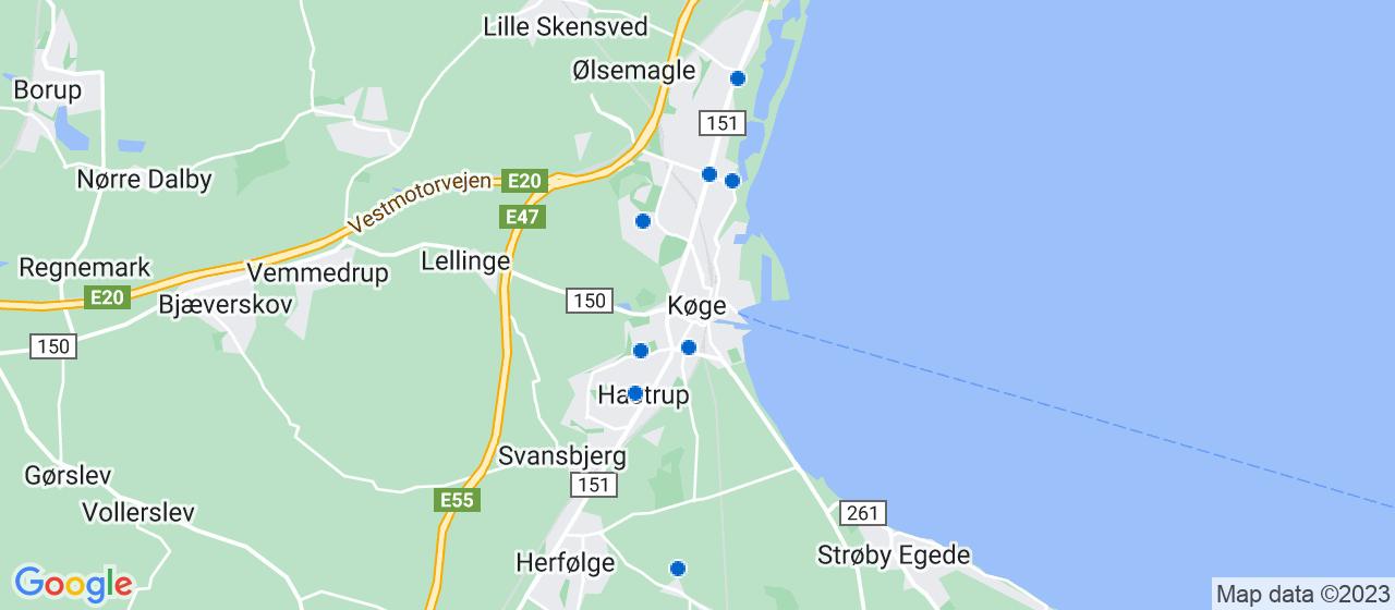 gulvafslibning firmaer i Køge