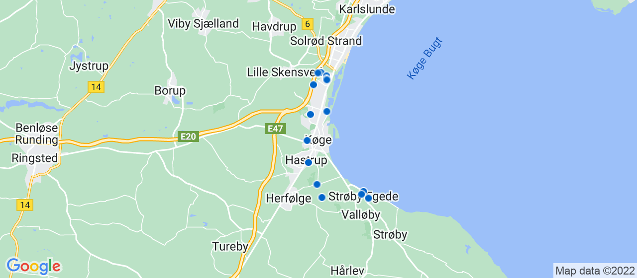 entreprisefirmaer i Køge