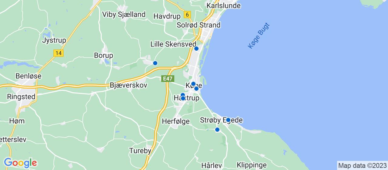 elektrikerfirmaer i Køge