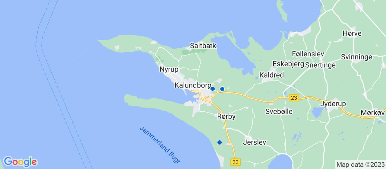 glarmesterfirmaer i Kalundborg