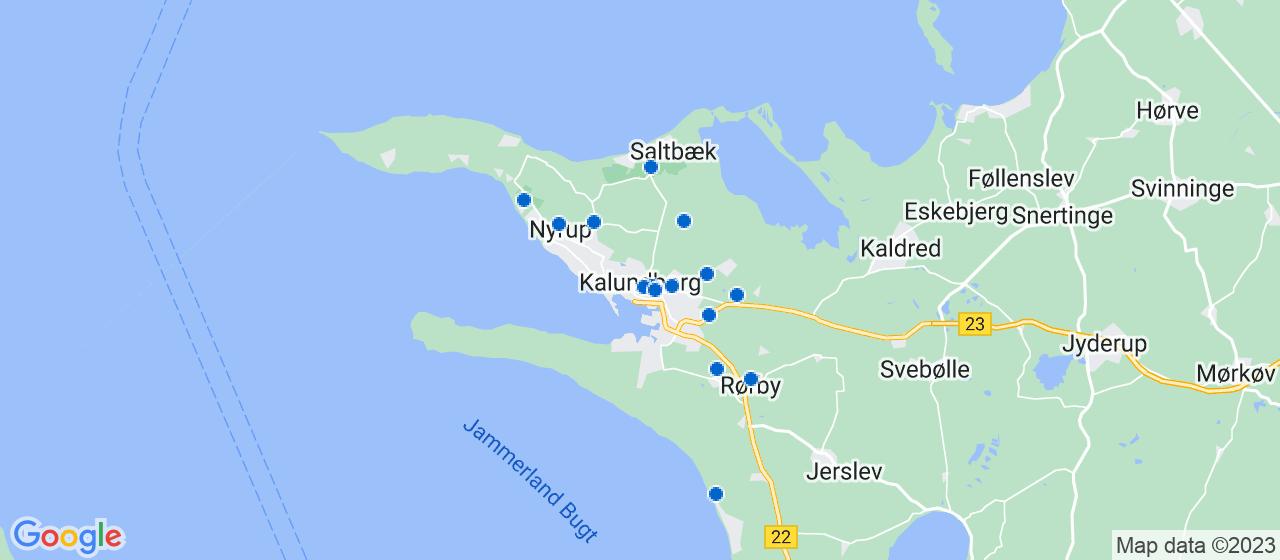 malerfirmaer i Kalundborg