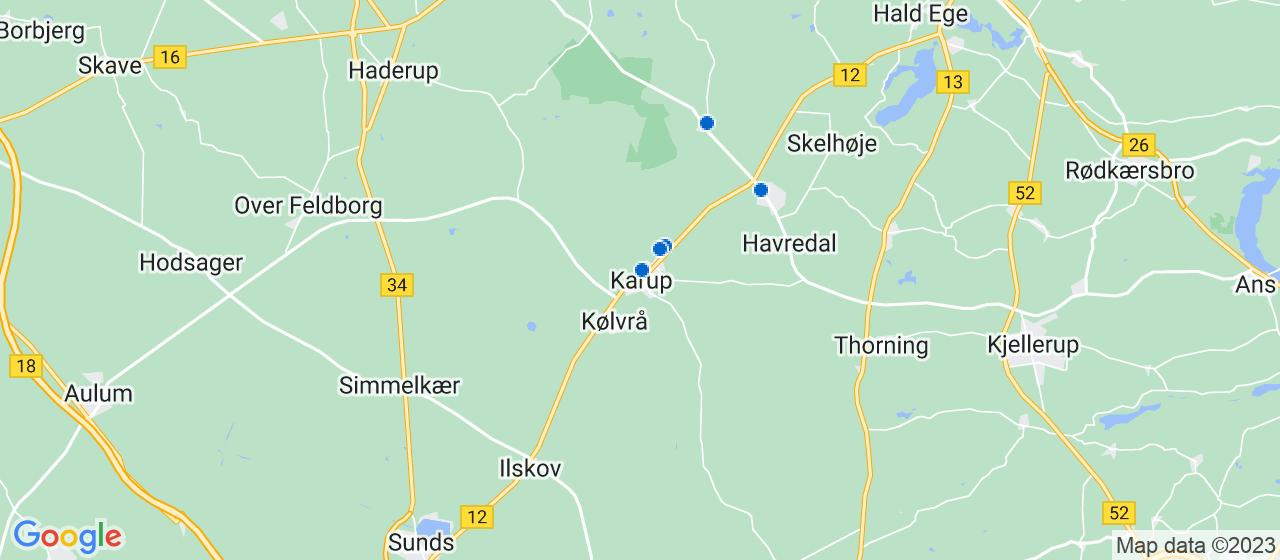 cateringfirmaer i Karup