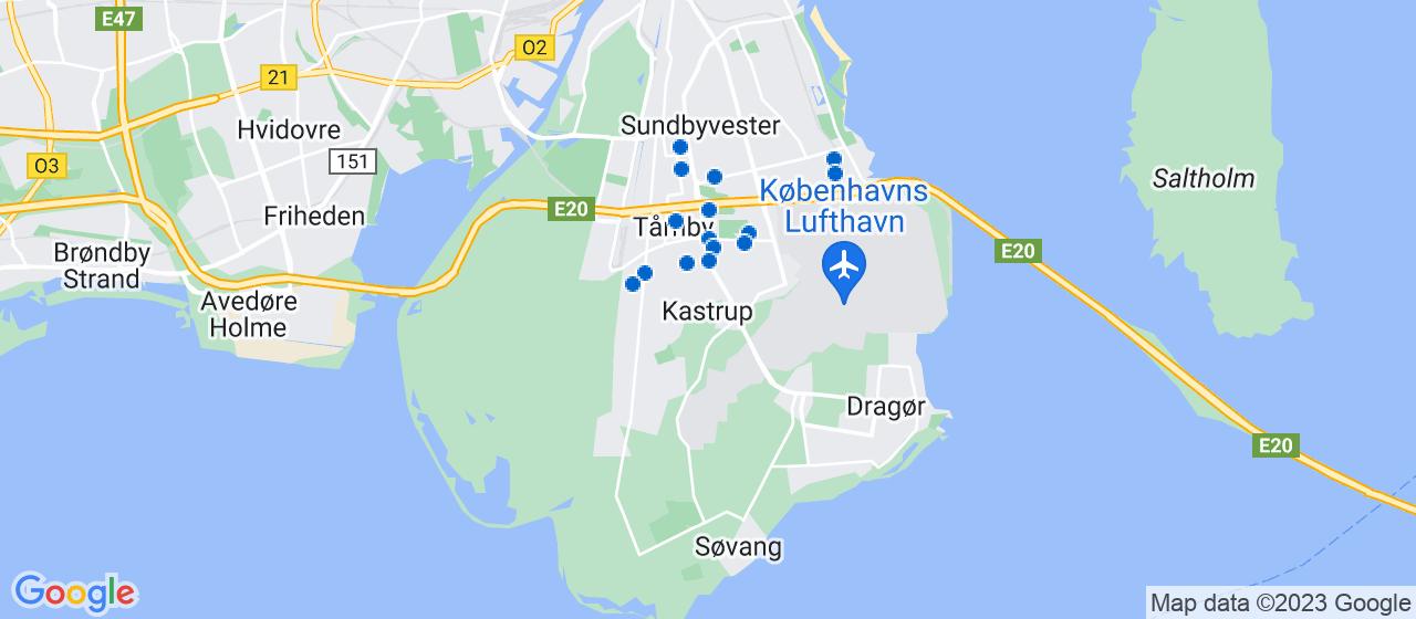 sandblæsning firmaer i Kastrup
