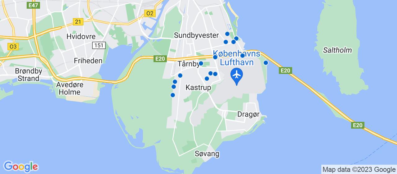 elektrikerfirmaer i Kastrup