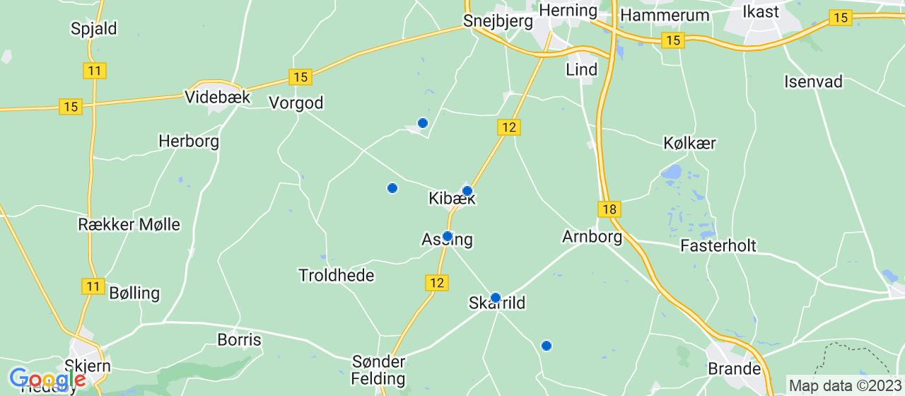 mekaniker firmaer i Kibæk