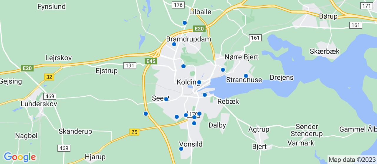 håndværkerfirmaer i Kolding