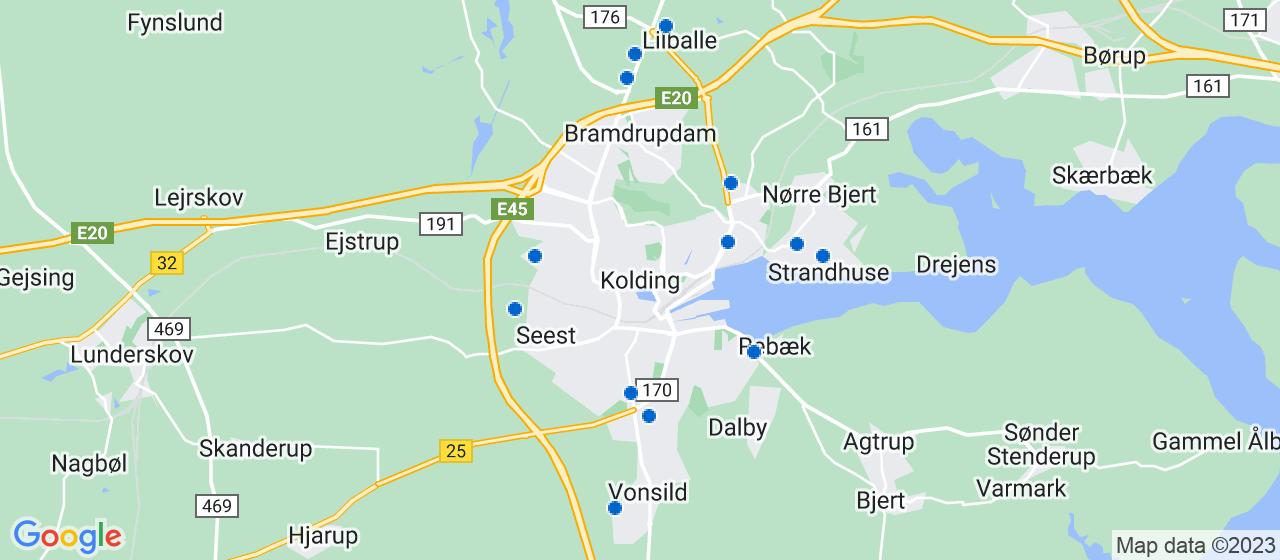 entreprisefirmaer i Kolding