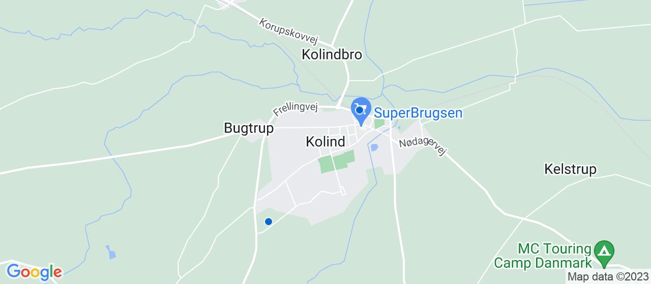ejendomsservicefirmaer i Kolind