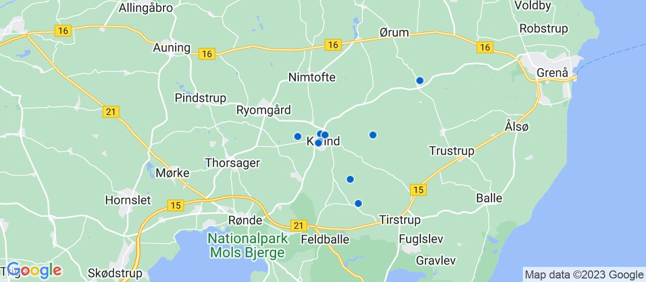 byggefirmaer i Kolind