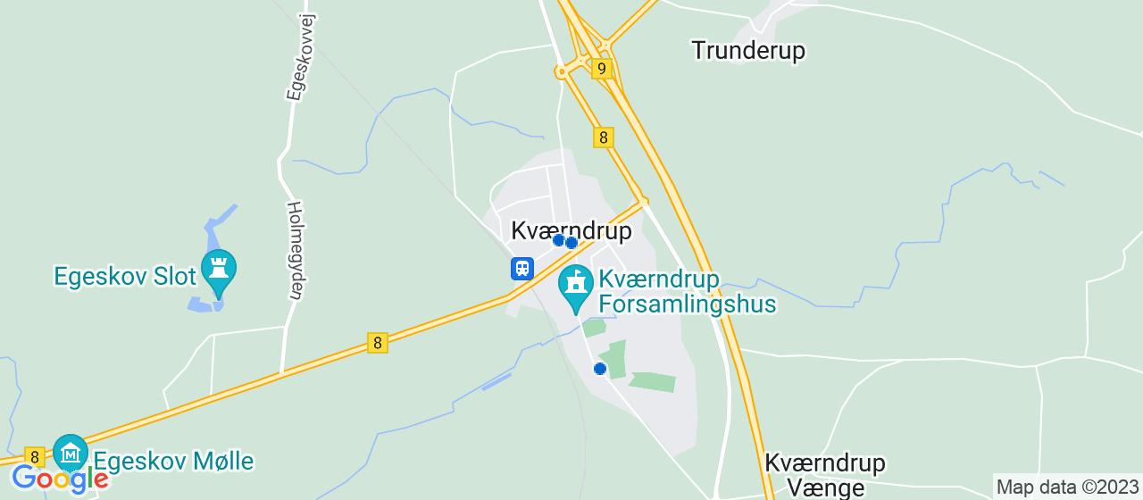 malerfirmaer i Kværndrup