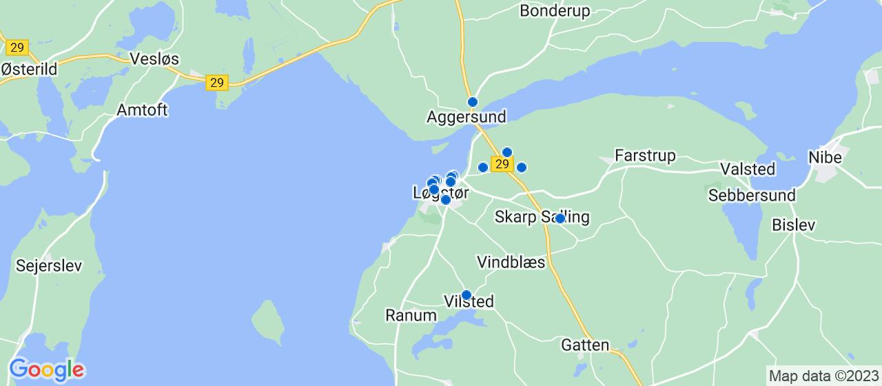 byggefirmaer i Løgstør
