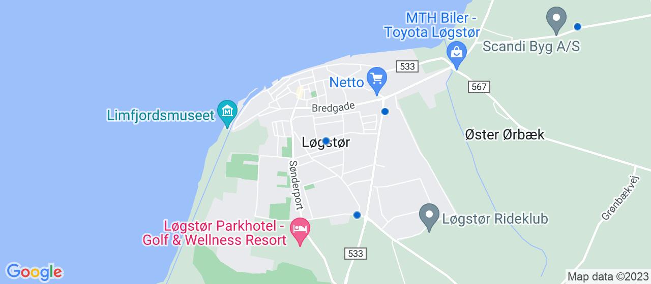 glarmesterfirmaer i Løgstør
