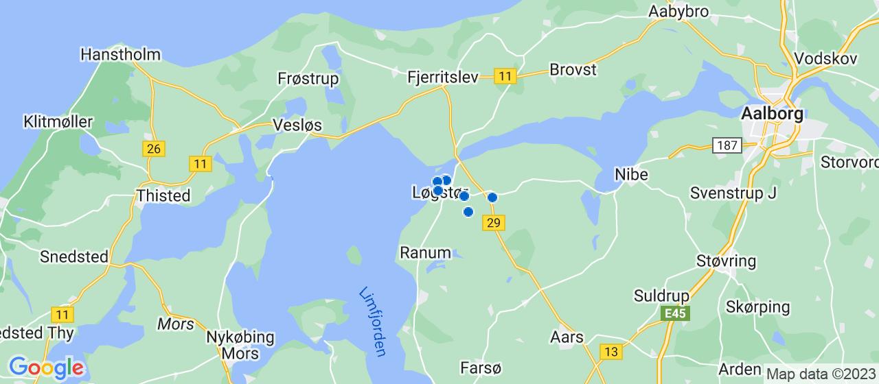 murerfirmaer i Løgstør