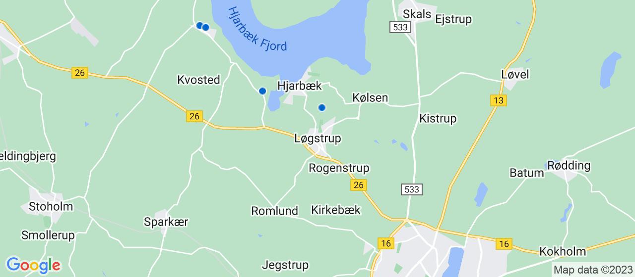 sandblæsning firmaer i Løgstrup