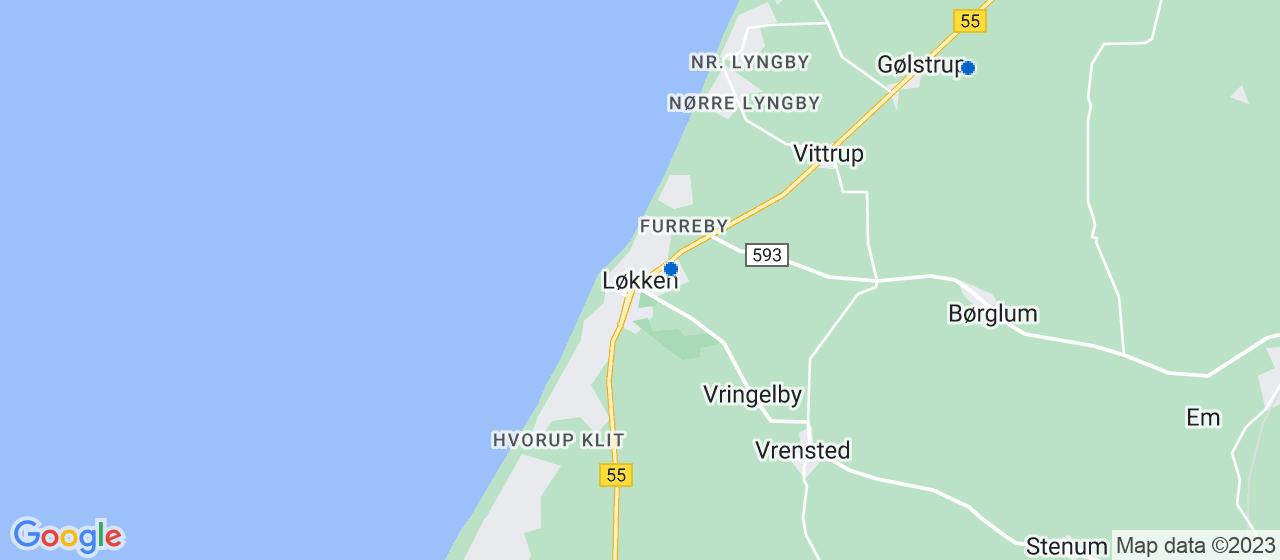glarmesterfirmaer i Løkken