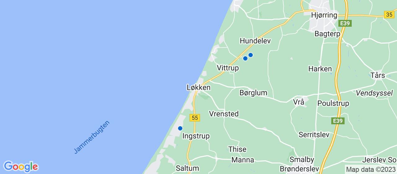 anlægsgartnerfirmaer i Løkken