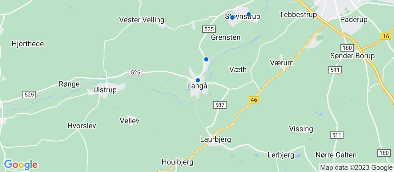 anlægsgartnerfirmaer i Langå