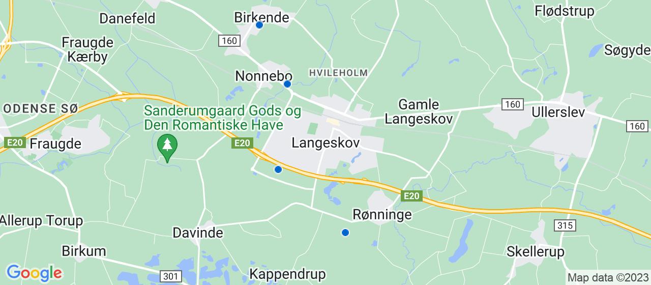 rengøringsfirmaer i Langeskov