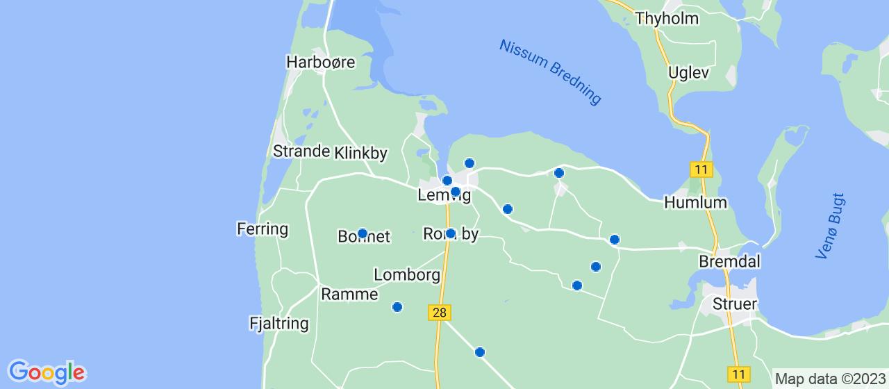 murerfirmaer i Lemvig