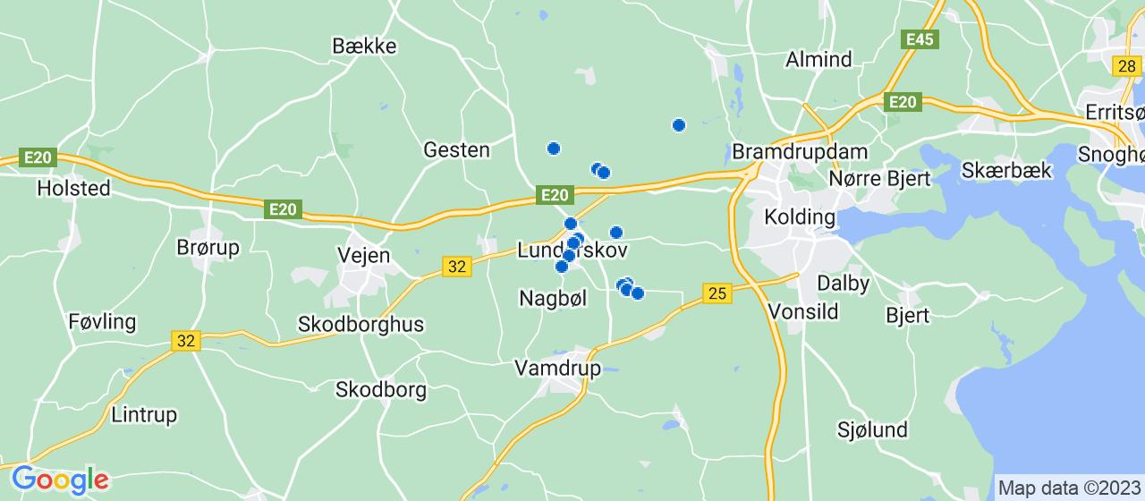 byggefirmaer i Lunderskov