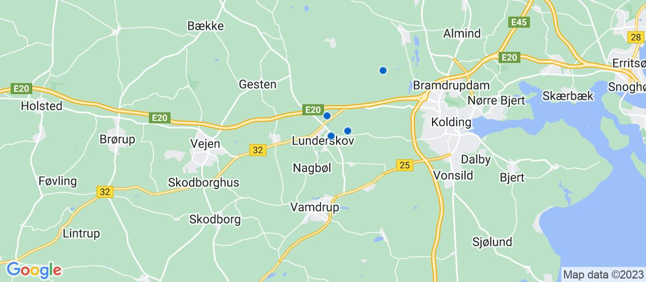 murerfirmaer i Lunderskov