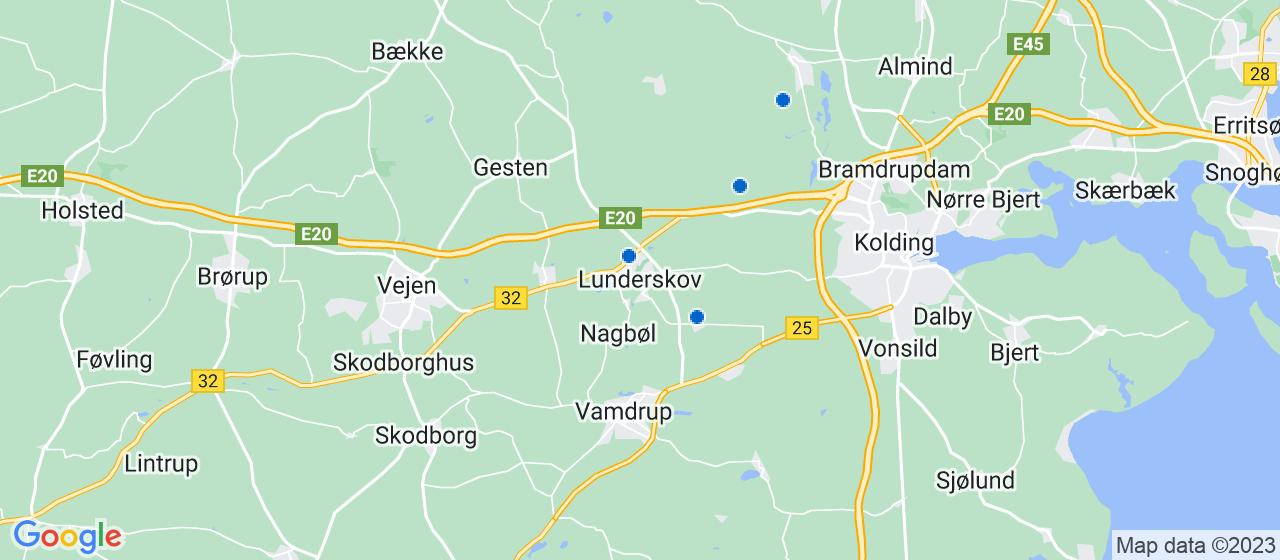 elektrikerfirmaer i Lunderskov
