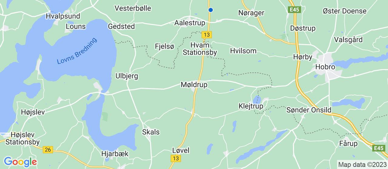kloakfirmaer i Møldrup