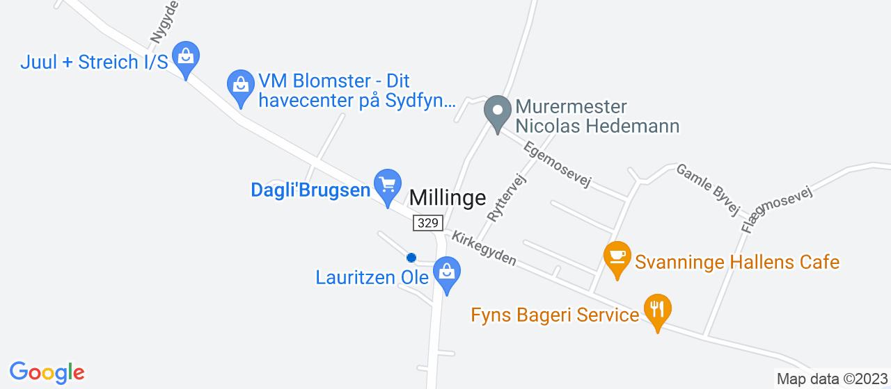 byggefirmaer i Millinge