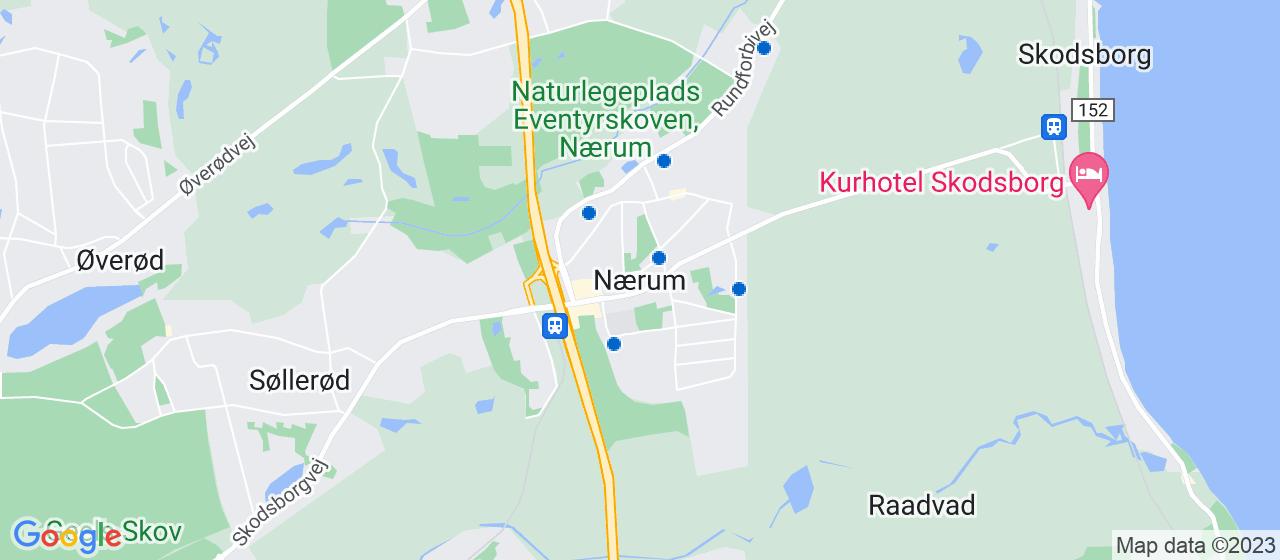 malerfirmaer i Nærum