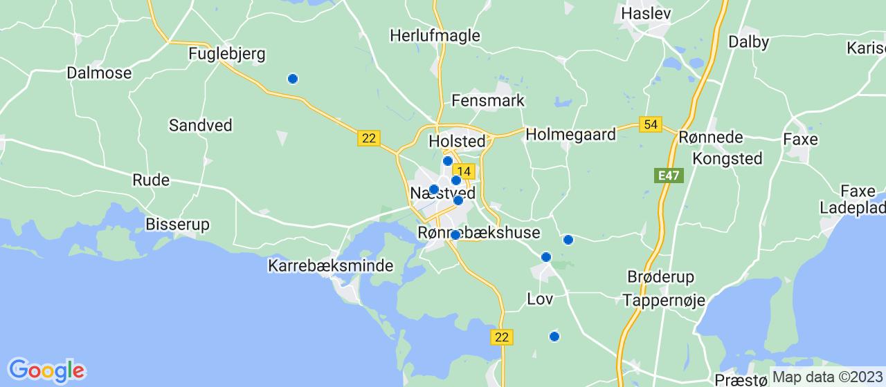 kloakfirmaer i Næstved