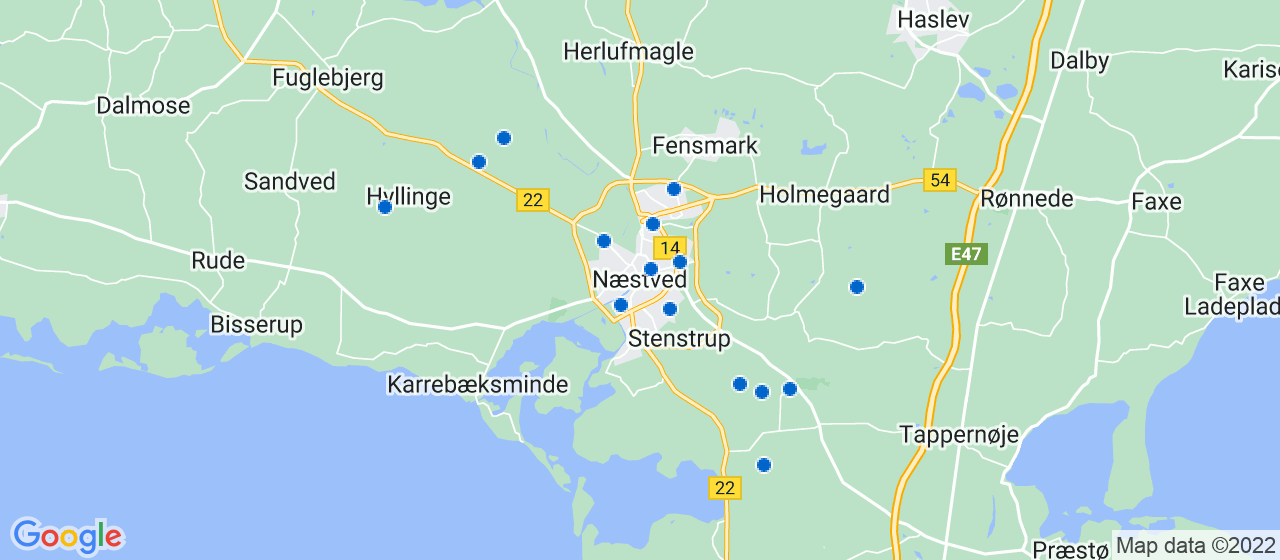 anlægsgartnerfirmaer i Næstved
