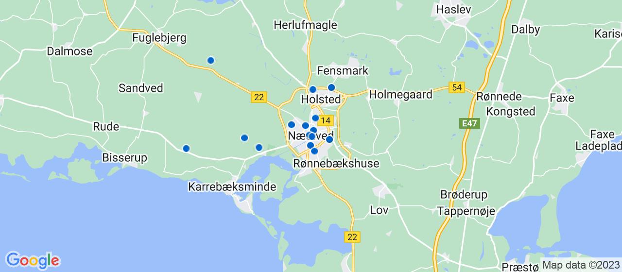 byggefirmaer i Næstved