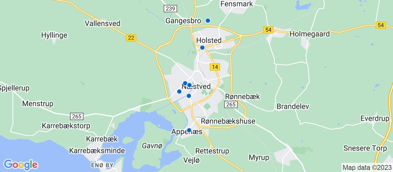 VVS firmaer i Næstved