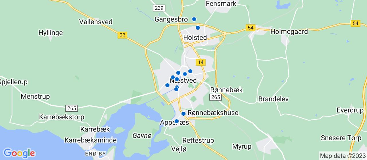 vvsfirmaer i Næstved