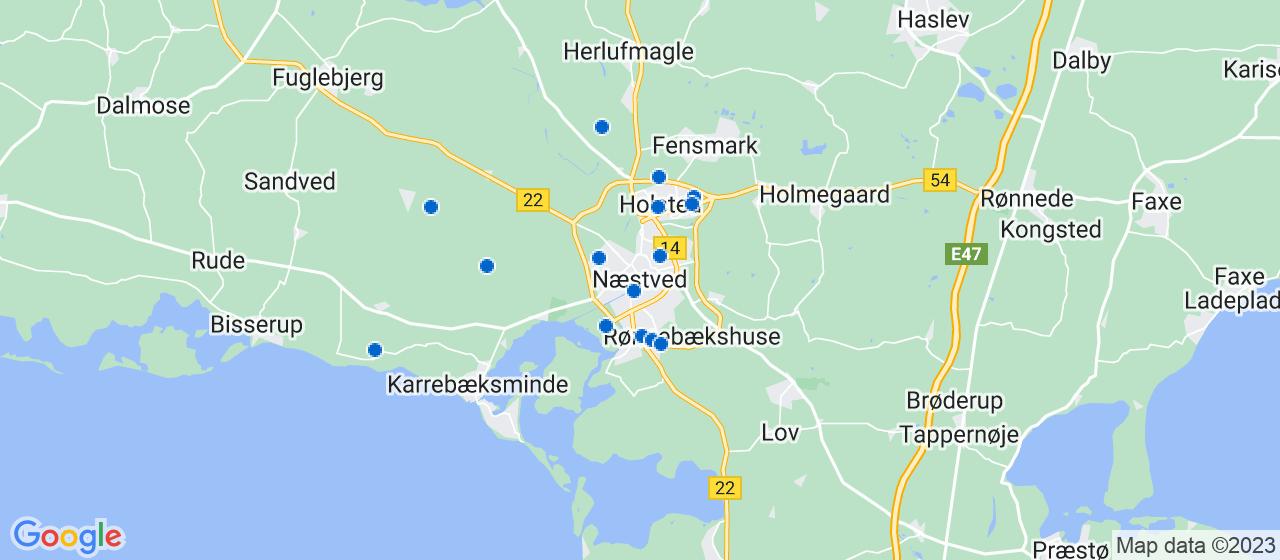 elektrikerfirmaer i Næstved