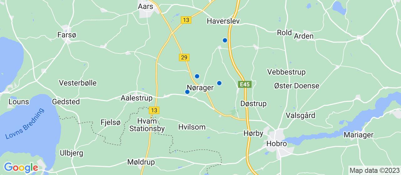 kloakfirmaer i Nørager
